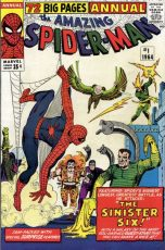 The Amazing Spider-Man Annual #1 (okładka przedruku)