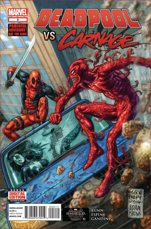 Deadpool vs. Carnage #2 | Spider-Man Online
