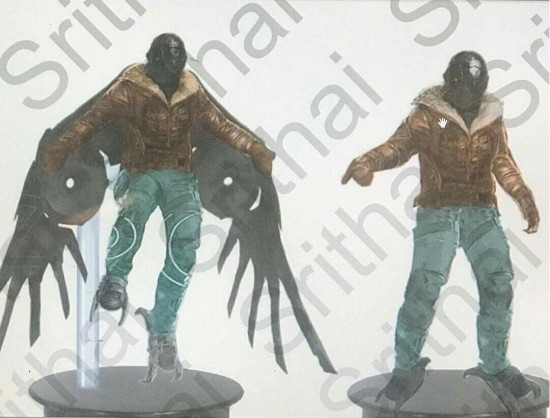 Spider-Man: Homecoming (Concept Art - Vulture)