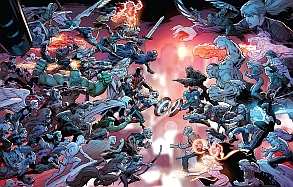 Secret Wars 2015 (Kingom of Manhattan - Civil War)