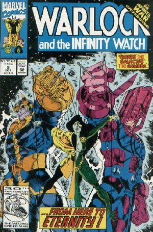 Warlock And The infinity Watch #9