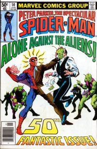Peter Parker, The Spectacular Spider-Man #50