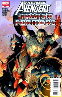 The New Avengers/Transformers #1