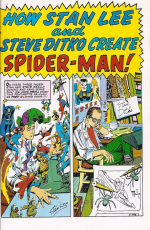 How Stan Lee and Steve Ditko Create Spider-Man!