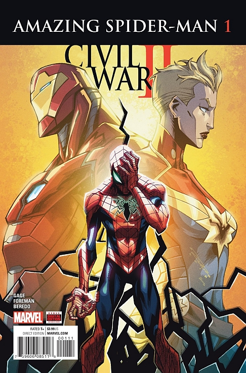 Civil War II: Amazing Spider-Man #1