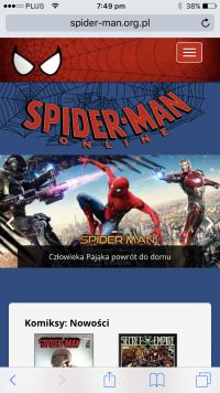 Mobilne Spider-Man Online